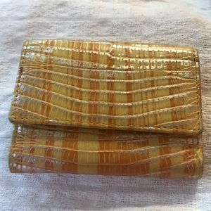 Lodis Yellow Audry Mallory Wallet